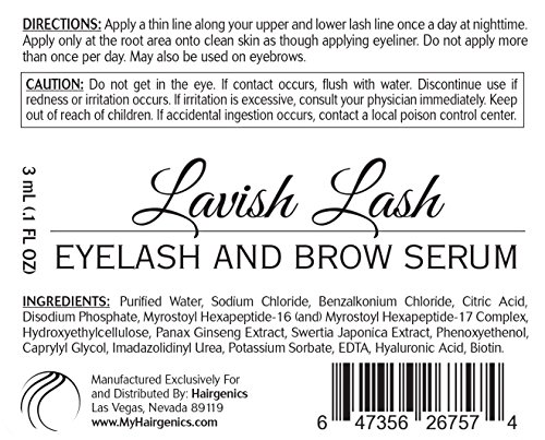 Hairgenics Lavis Lash Serum