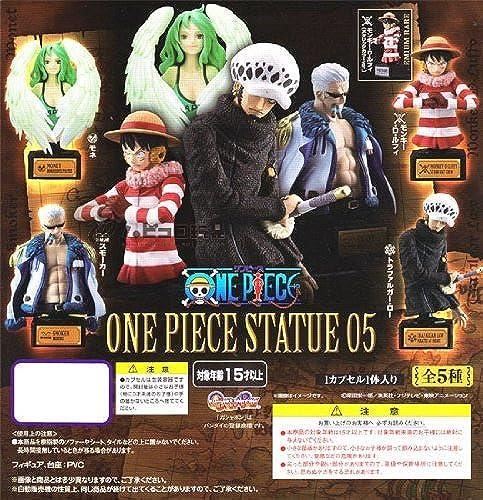 Vollst iger Satz von 5 05 Premium-Rare Eingabe Statue - ONE PIECE-Stück (Japan Import   Das Paket und das Handbuch werden in Japanisch)