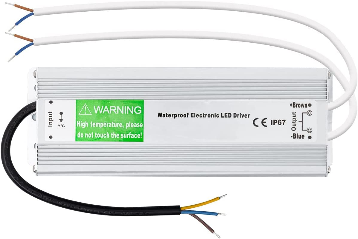 LEDKIA LIGHTING Fuente de Alimentación Estanca 150W 24V IP67