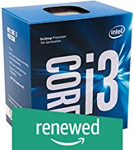 Intel BX80677I37100 - 51W Core i3-7100 Kaby Lake de doble núcleo a 3.9 GHz LGA 1151, procesador de escritorio Intel HD Graphics 630 (Reacondicionado)