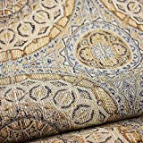 eLuxurySupply Fabric by The Yard - 100% Polyester Upholstery Sewing Fabrics with LiveSmart Technology - Lightridge Aztec Pattern