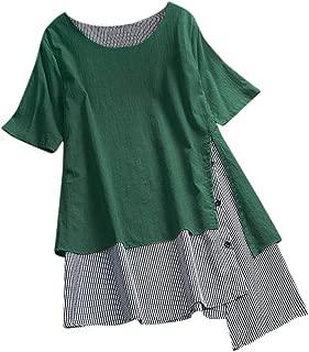 Tunique chemisier tunique shirt chemise longue longtunika Noir Coloré Taille 48 56 nouveau