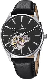 Festina Automatik F6846/4 Mens Wristwatch Solid Case