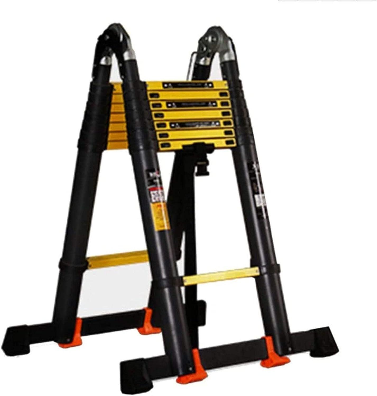 Aluminum Alloy Extension Ladder Portable Home Outdoor Gar Max 82% OFF Fashion Attic