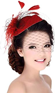 Best red tea party hats Reviews