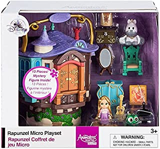 Disney Animators' Collection Littles Rapunzel Micro Doll Play Set - 2 Inch 460023004407