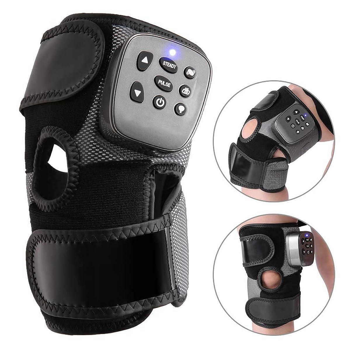 どこにでもこしょうティッシュ膝のマッサージャー、電気暖房の振動マッサージの膝の苦痛救助のマッサージャー