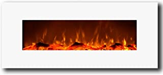 Best white wall mounted fireplace Reviews