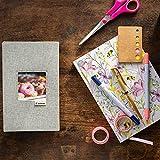 Canon Album photo MC-PA005 pour imprimante SELPHY Square QX10 (jusqu'à 40 photos, personnalisable), gris