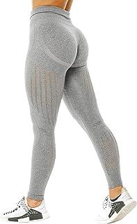TSUTAYA Yoga Pants High Waisted Leggings for Women Gym Active Vital Seamless Workout Tummy Control Leggings