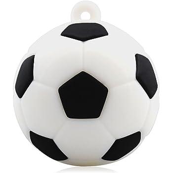 818-Shop No27300050008 USB-Pendrive 8GB fútbol futbolín 3D, color blanco: Amazon.es: Informática