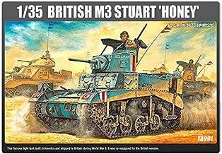 1/35 Academy 13270 BRITISH M3 STUART HONEY Plastic Model Kit NIB /ITEM#G839GJ UY-W8EHF3176576
