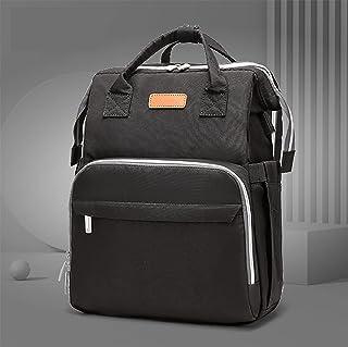 Blöja väska ryggsäck, bärbar blöja väska, vikbar babysäng blöja väska, tre-i-ett multifunktionell resor ryggsäck, mor och ...