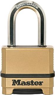 Master Lock Padlock, Excell® Zinc Body Padlock, High Security Lock, Keyed Lock, Best Used for Storage Units, Sheds, Garage...
