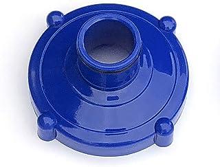 Algenschnapper Adaptador para aspiradora de Suelo, conexión roscada de 80 mm a Conector de Manguera de 32 mm, Azul