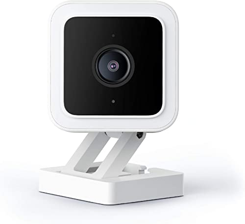 Cam v3 1080p HD Indoor/Outdoor Video Camera with Color Night Viewing, 2-Way Audio, Compatible with Alexa & The Google...
