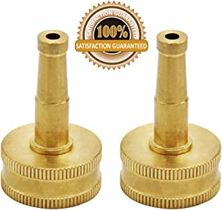 Twinkle Star Brass Jet Sweeper Sprayer Nozzle, 2 Pack, TWIS3431