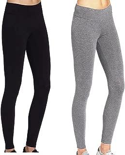 Cotton Yoga Capri Pants Women's Tummy Control Workout Leggings Non See-Through Fabric