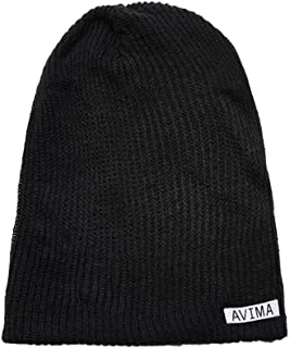 AVIMA Reversible Beanie Hat for Men, Women & Kids in Many Colors Stretchy Comfy