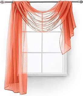 Best multi color window scarf Reviews
