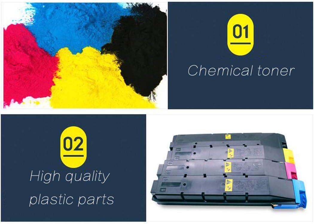 4colors Genuine Consumables-Blue Compatible with Kyocera Taskalfa 3050ci 3550ci 3051ci 3551ci Copier Ink Cartridge Suitable for Kyocera Tk-8308 Color Toner Cartridge