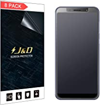 J&D Compatible for ASUS ZenFone Max Pro Screen Protector (8-Pack), Not Full Coverage, Anti-Glare Matte Film Shield Screen ...