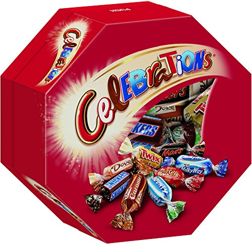 Celebrations Geschenkpackung, 4 Packungen (4 x 190 g)