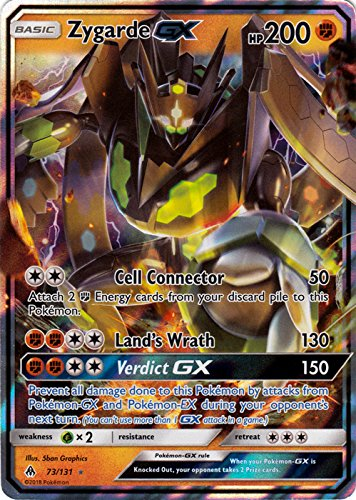 Zygarde GX - 73/131 - Ultra Rare - Forbidden Light