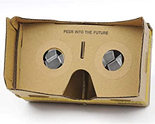DIY 3D VR Virtual Reality Cardboard Glasses for Google Android iPhone Headset KJ