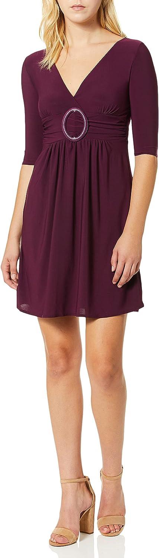 Star Vixen Women's Elbow-Sleeve O-Ring Dress