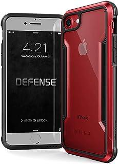 iPhone SE (2020) / 8 / 7 用 ケース 【 X-Doria 】 DEFENSE SHIELD シリーズ 米軍MIL規格取得 MIL-STD-810G 耐衝撃 スリム ハイブリッド アルミニウム × TPU × ポリカーボネ...