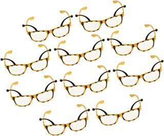 F Fityle 10pcs Novelty Bee Party Glasses Honeybee Eyeglasses Costume Dressing Up Prop