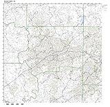 Winston-Salem, NC ZIP Code Map Laminated