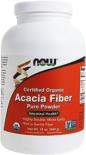 NOW- Acacia Fiber Organic Powder 12 oz