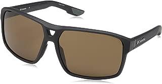 Men's Black Ridge Aviator Sunglasses