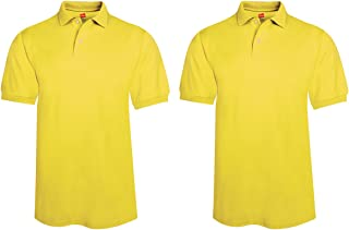 Hanes ComfortBlend EcoSmart Knit Polo Shirt (Pack of 2)