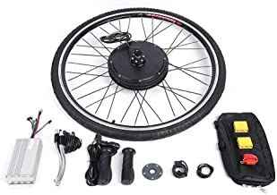 Kaibrite Kit de conversión para bicicleta eléctrica de 28 pulgadas, 36 V, 500 W