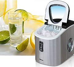 YANXS Automatique Machine à Glaçons avec Réservoir 2.5 litres 9 Glaçons par 6-13 Min Produire 12kg de Glace par Jour