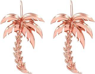 Lankater Forme des Plantes Tropicales Cartoon Broche Lapel Feuilles de Palmier Cactus Cocotier Plante Badge Pin /émail pour Les Femmes 1set