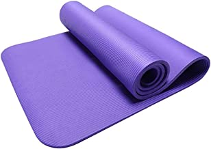 Eco Friendly Non Slip Fitness Exercise Yoga Mat 15M Thic Yog Mat Non-Sli Exercis Mat Fo Hom Gy Durabl Fitnes Foa Mat Workou Loos Weigh Pad Mat Fo Pilates Exercise Aerobic Gymnastics Fitness Camping Gy