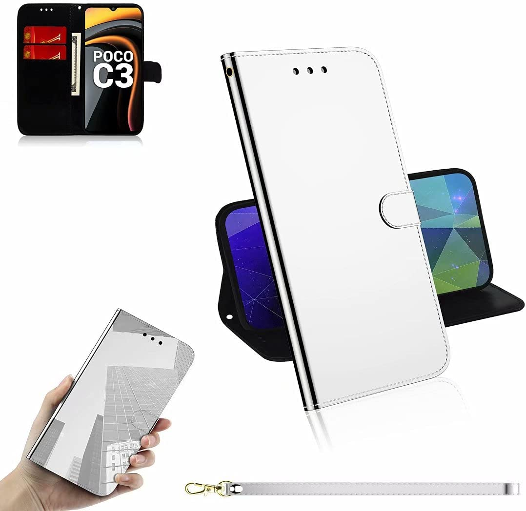 ZXL Compatible with Xiaomi Mi Poco Wallet C3 PU Leather Max 70% OFF Mag A surprise price is realized Case