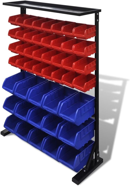 Organizer für Werkzeug für Werkstatt, blau rot