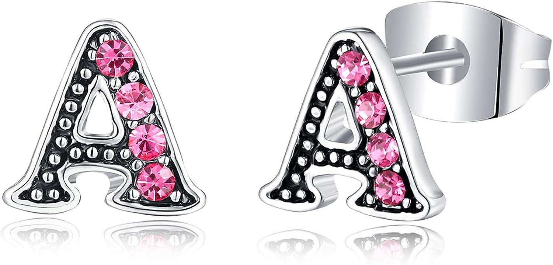 Tarsus Hypoallergenic Initial Stud CZ Cheap Overseas parallel import regular item Daughte Girls Earrings for