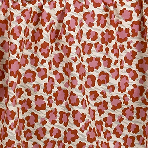 Cotton Tale Designs Here Kitty Imprimé animal en tissu, Rose