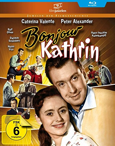 Peter Alexander: Bonjour Kathrin (Filmjuwelen) [Blu-ray]