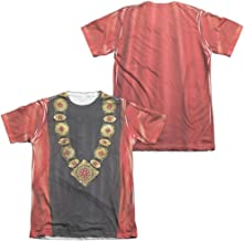 Star Trek Next Generation Q Uniform 2-Sided All Over Print Poly Cotton T-Shirt