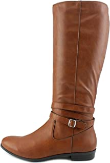 Style & Co. Womens Fridaa Round Toe Mid-Calf Riding Boots
