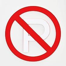 Luxycone(ラグジーコーン) ラグジーコーン用 駐車禁止看板 標識マーク 駐車禁止(白)