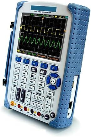 lzndeal Osciloscopio Digital de 5 m de Ancho de Banda 20 MSps Mini port/átil para DSO FNIRSI Pro Osciloscopio