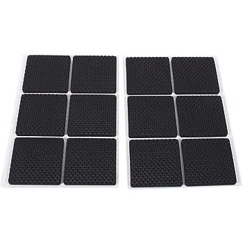 autocollant Top Qualit/é Antid/érapant Pads en caoutchouc EPDM//zellkaut 2,5/mm blanc blanc diff/érentes tailles